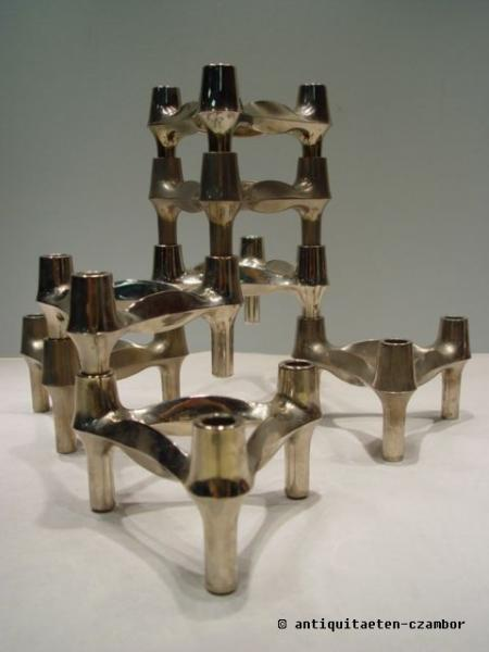 Stackable Candleholder  Nagel BMF