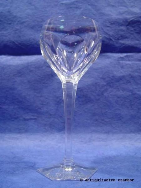 Wine glass, Moser, Art Nouveau about 1904