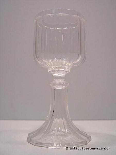 Wine glass, Gräflich Harrach´sche Glasfabrik Neuwelt, Biedermeier about 1820