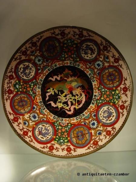 Cloisonne´ large serving platter