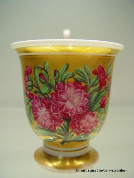 Cup with picture, Biedermeier period
