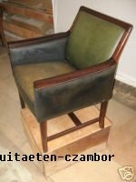 Arm chair, Denmark, about 1940, rose wood