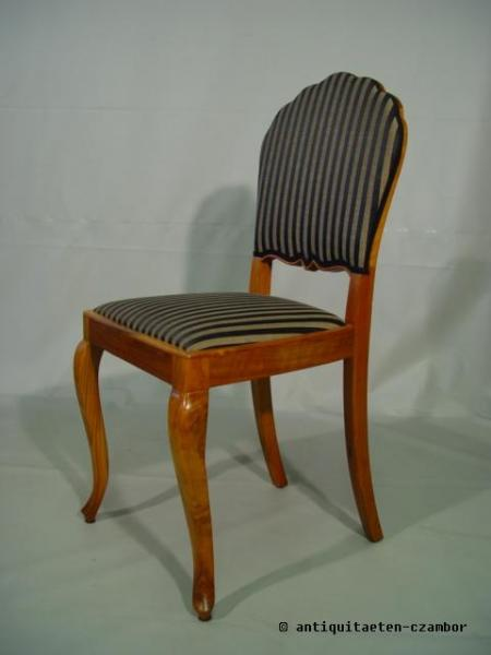 Chair, Art Deco about 1920, walnut